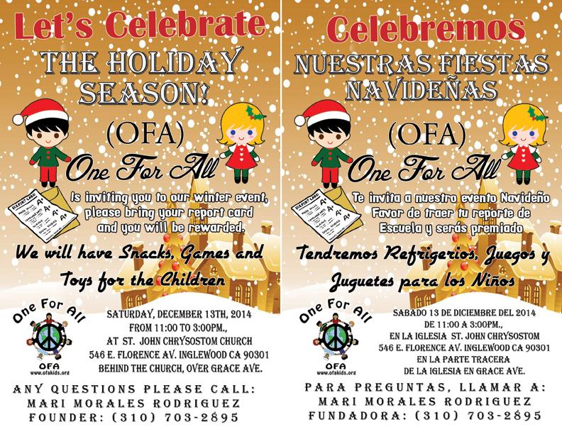 Holiday Season Winter Event