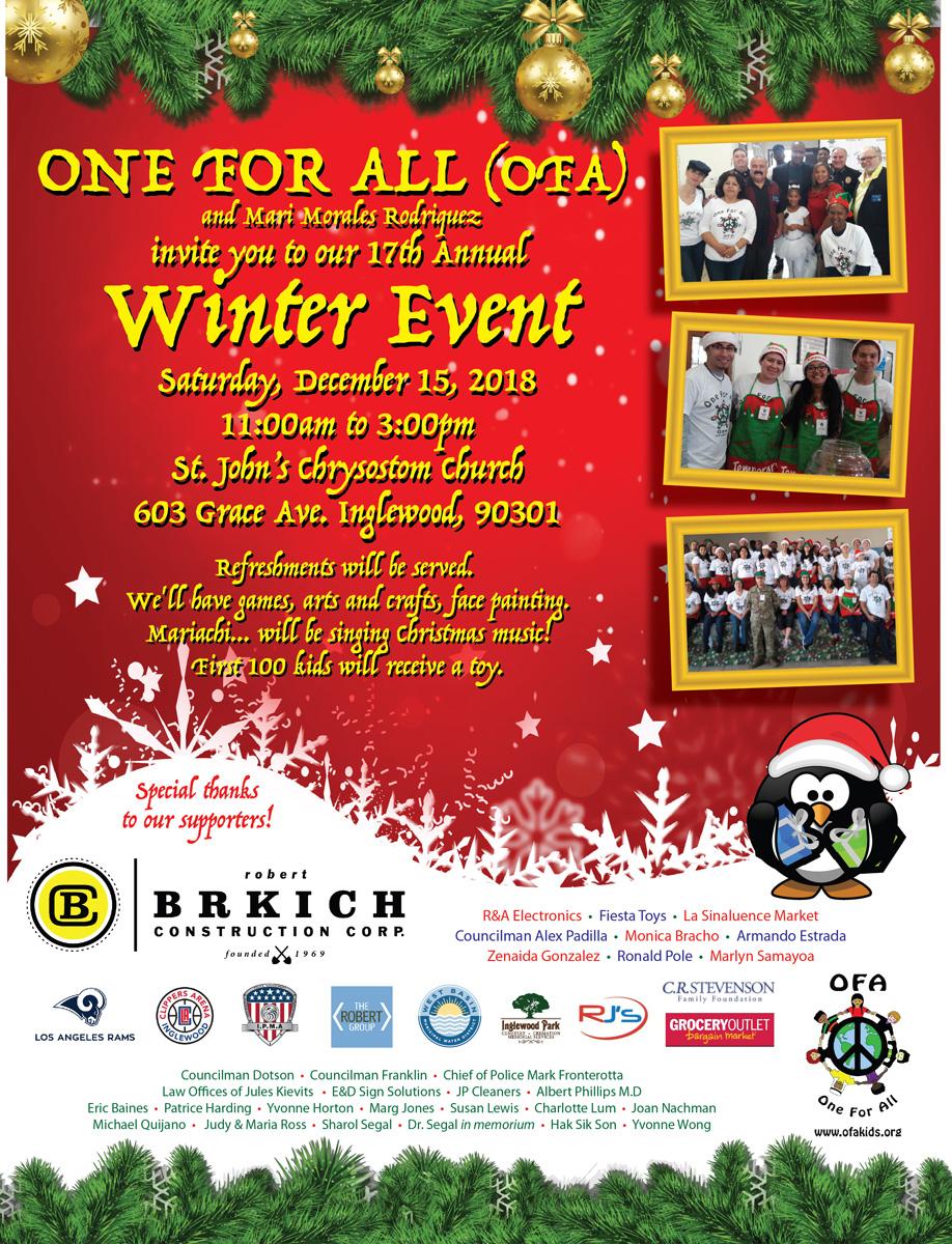 Winter Event – Dec, 15, 2018
