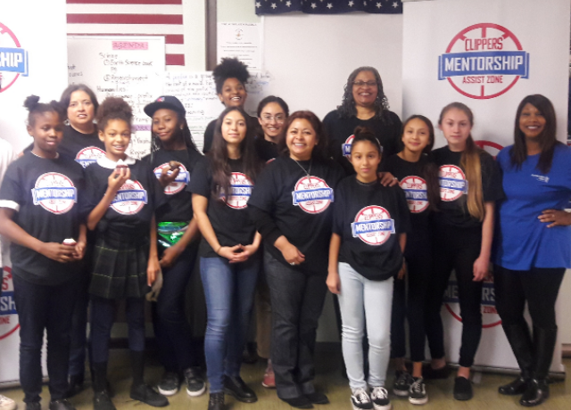 LA Clippers Challenge Coding Class