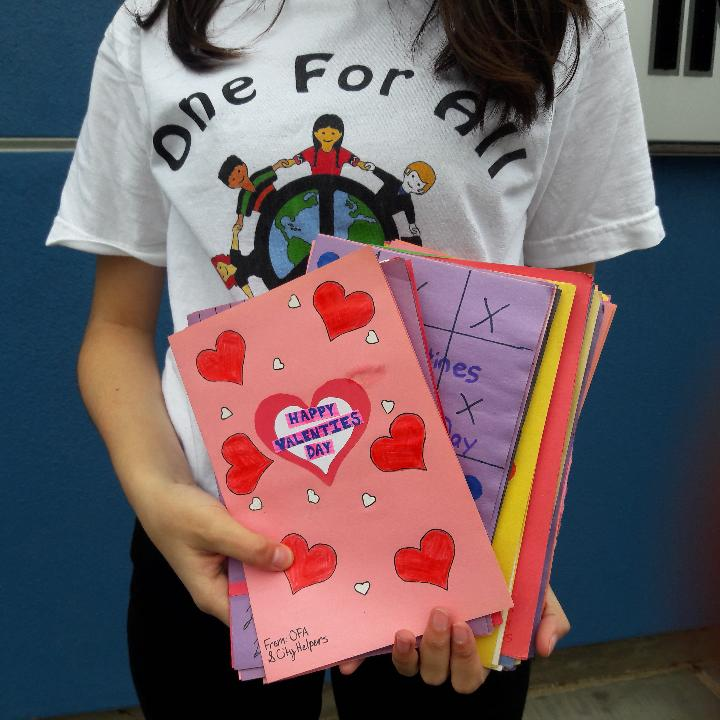 Valentine's at the Inglewood Senior Center