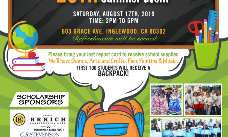 Back to School Summer Event